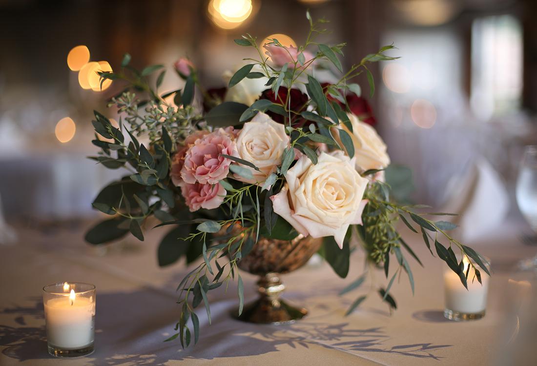Frisco floral centerpieces