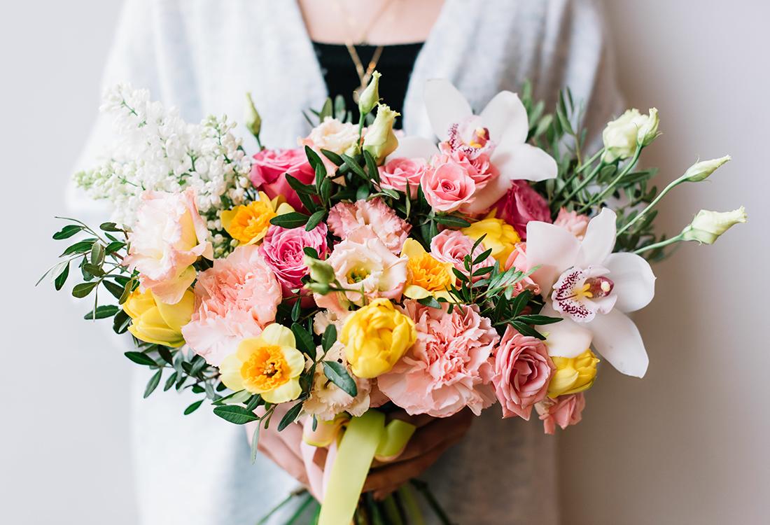 Custom bridal bouquets Frisco DFW